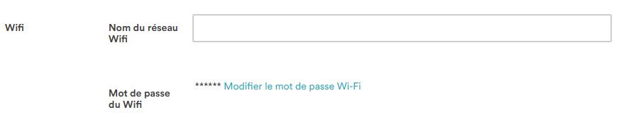 Paramétrage Wifi pour Mapado Box