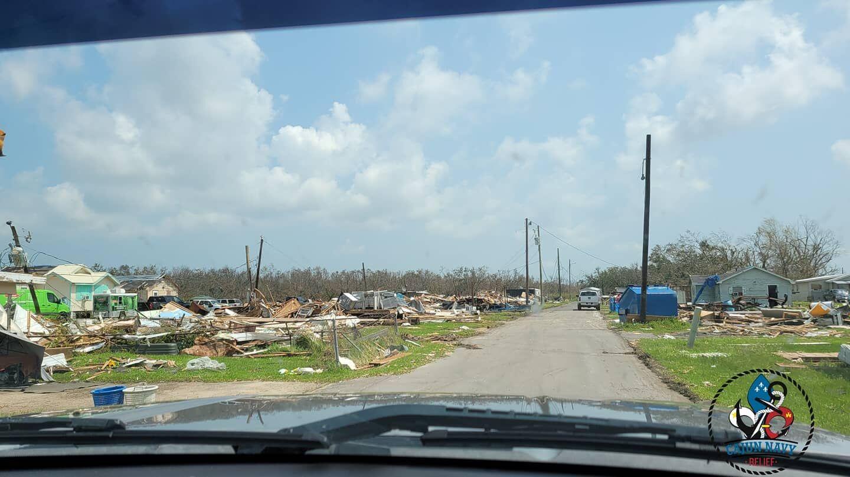 Images by Cajun Navy Relief in Golden Meadow, Louisiana