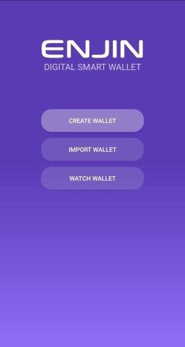 갓 설치한 앱의 홈 스크린