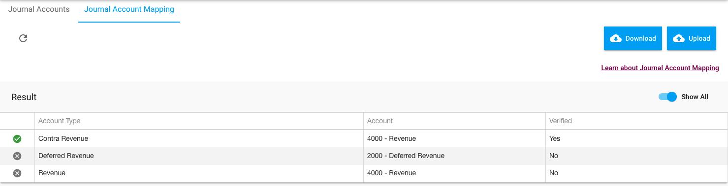 Bulk Account Mapping
