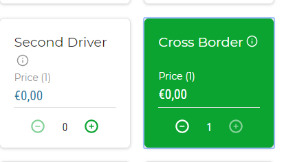 Car rental Croatia Cross border is free