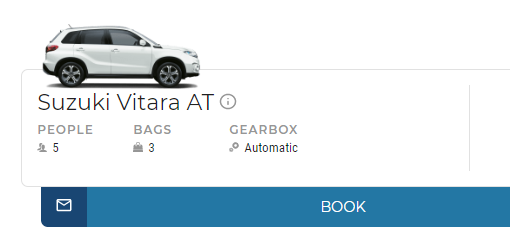 Automatic Car - Avax rent a car