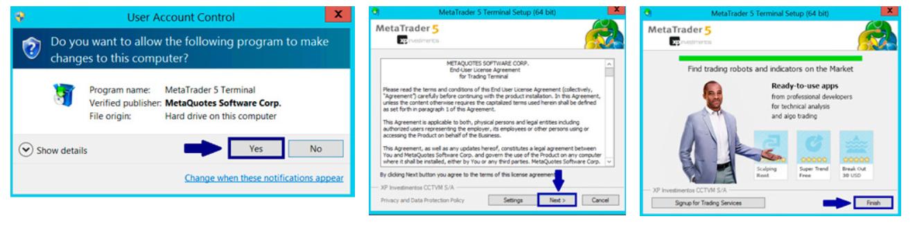 Instalação Metatrader 5