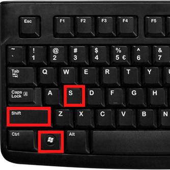 """Atalho """"Windows+Shift+S"""""""