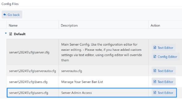 Rust Users.cfg - Server Admin Access