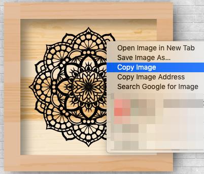 Copy Mandala Image