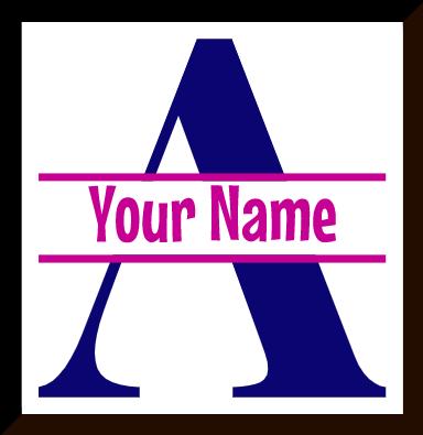Letter Monogram