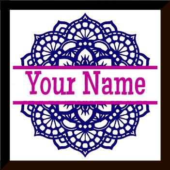 Mandala Monogram