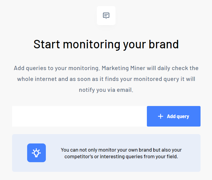 Mentions monitoring