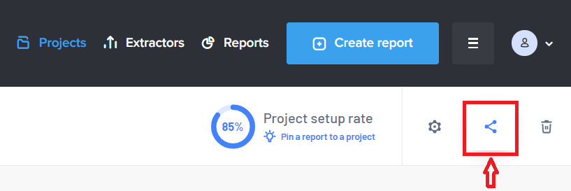 Share the project