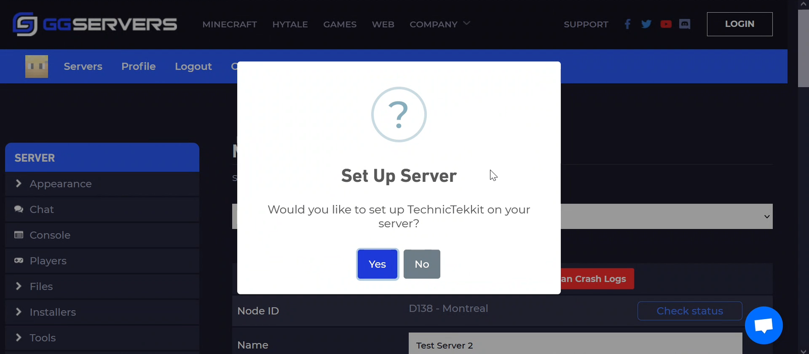 Do you want to setup your server with Tekkit?