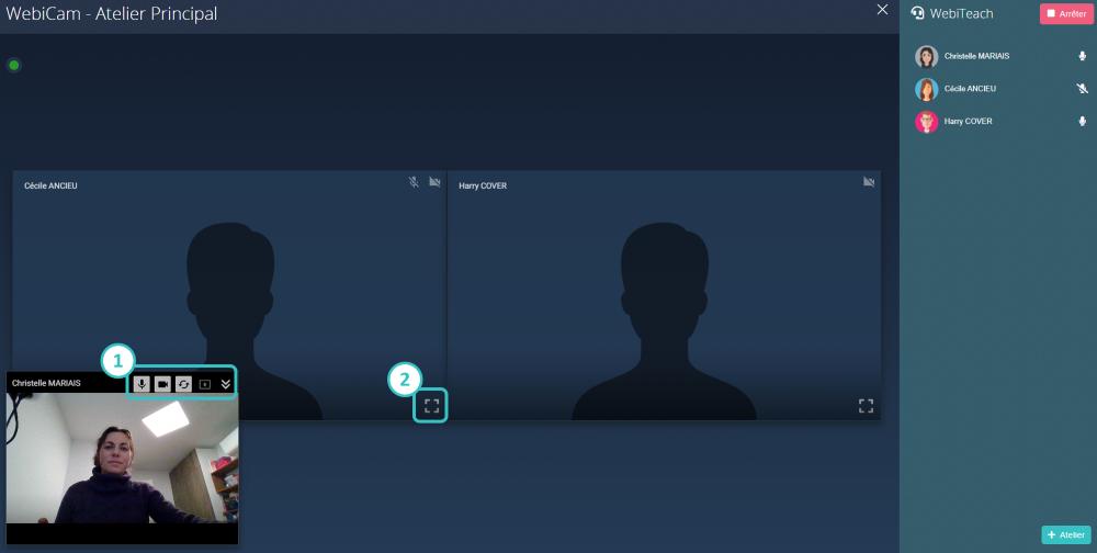 Interface WEBICAM