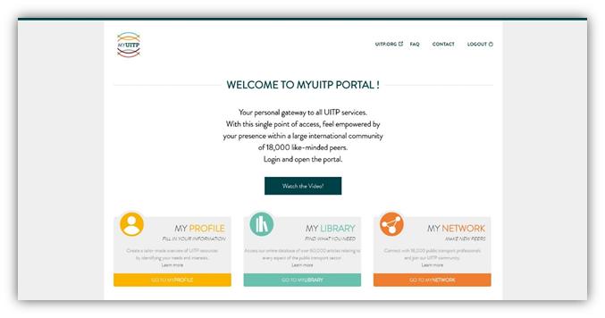 MyUITP Portal