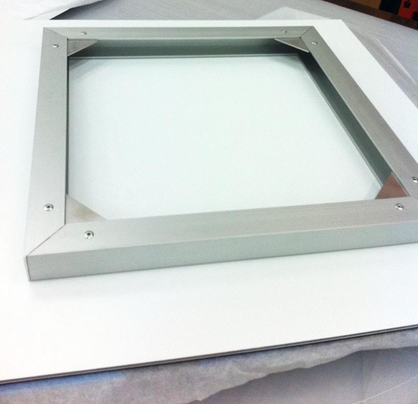 Acrylic Print bracket for mounting.