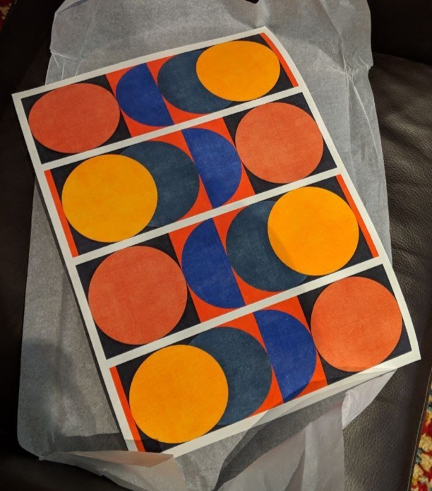 Image of a Matt-Paper Print.