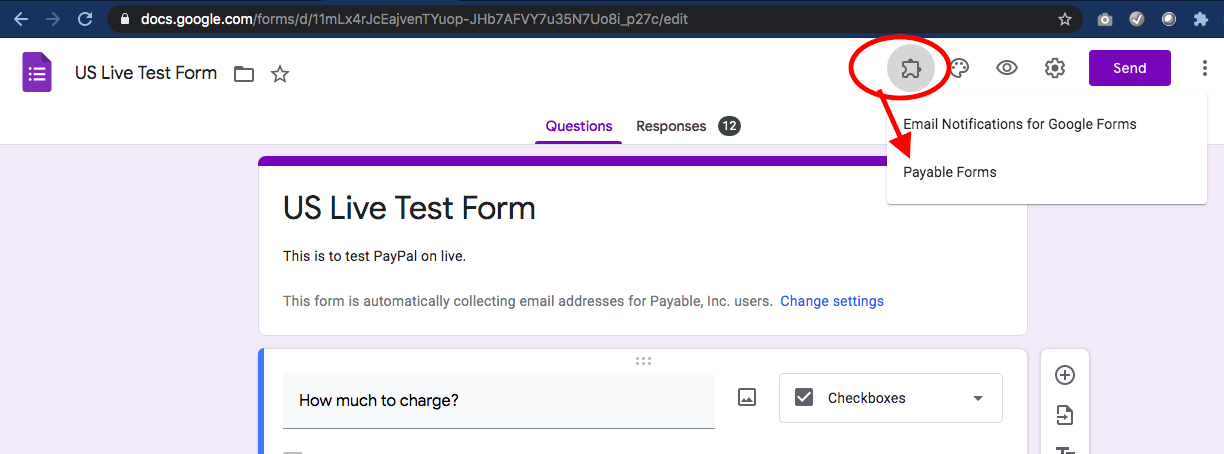 Payable Forms Add-On