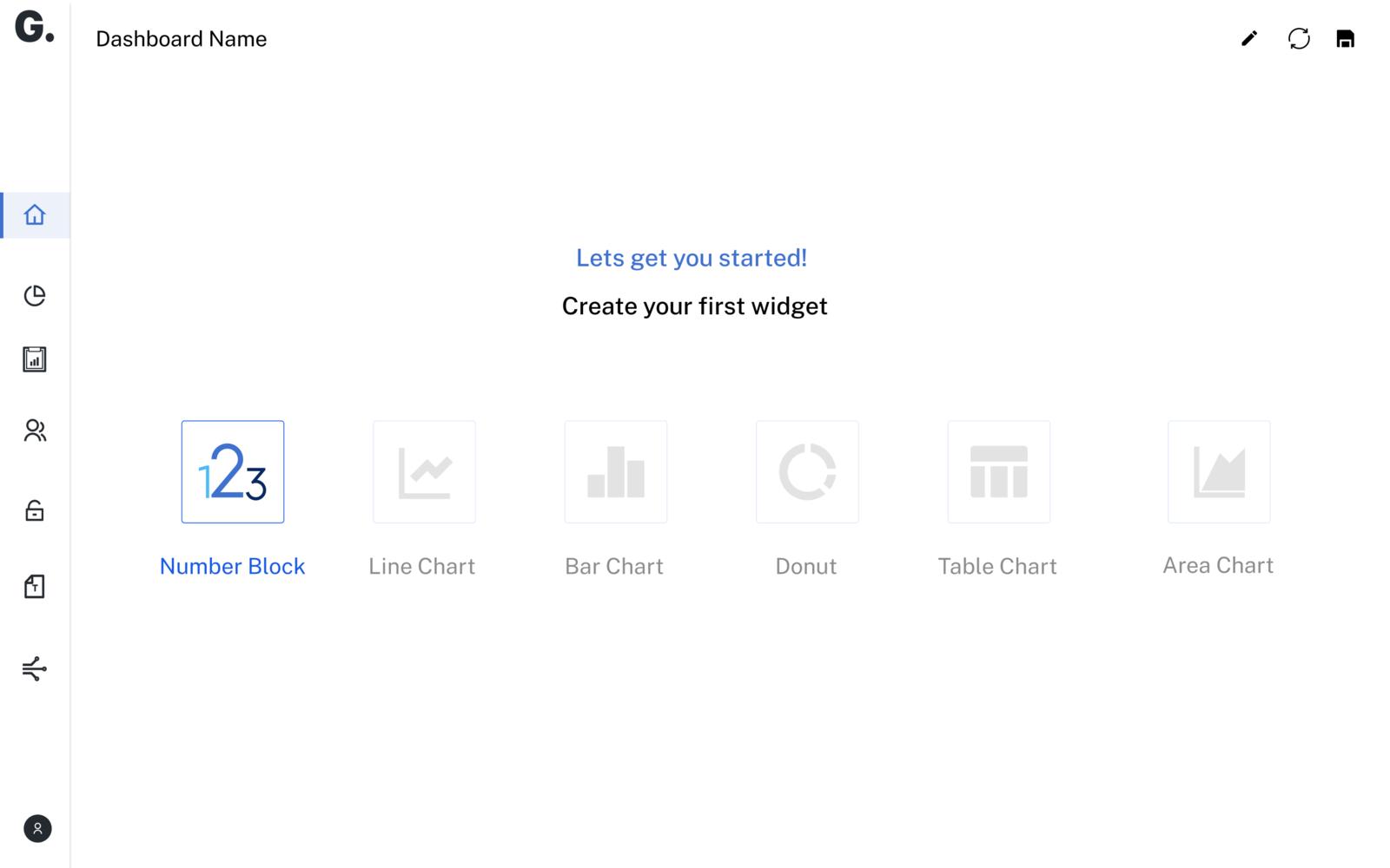 Create a new widget