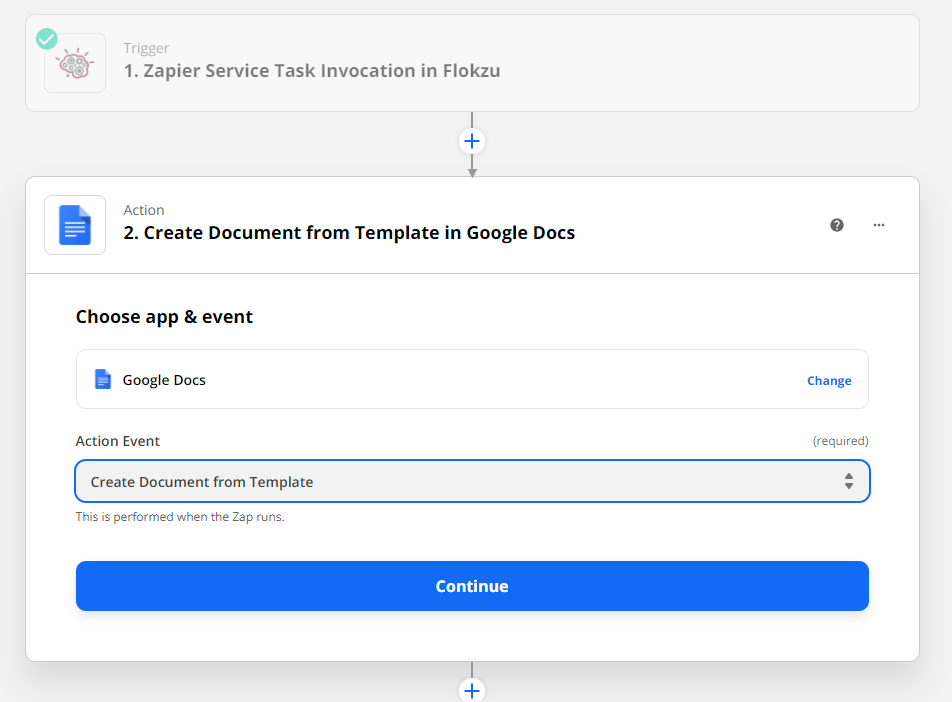 Create Document from Template in Google Docs