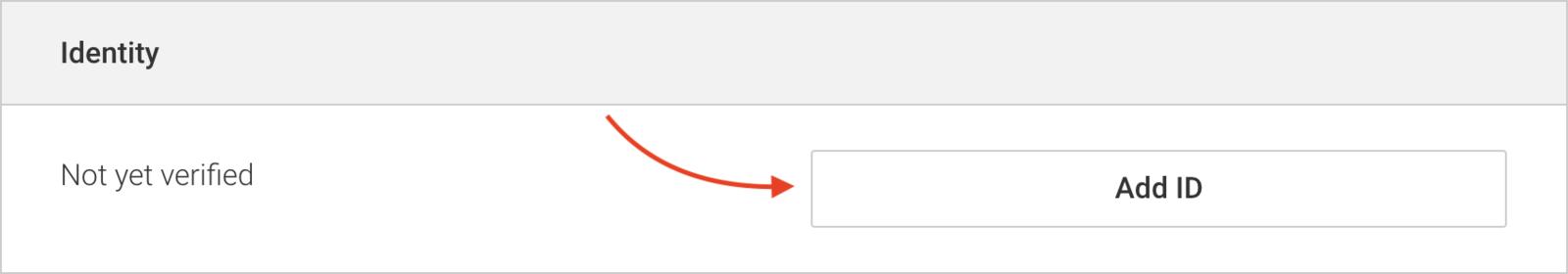 Under 'Identity', click 'Add ID'