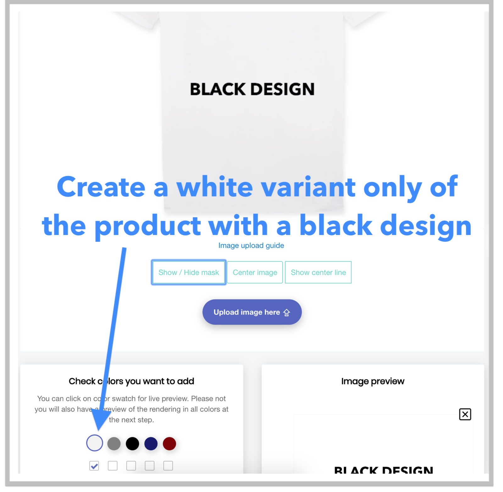 Create the first product