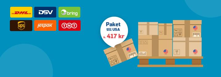 Shiplink: Skicka paket USA