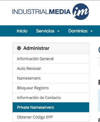 private nameserver