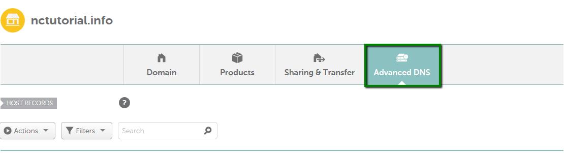 advanced DNS settings Namcheap