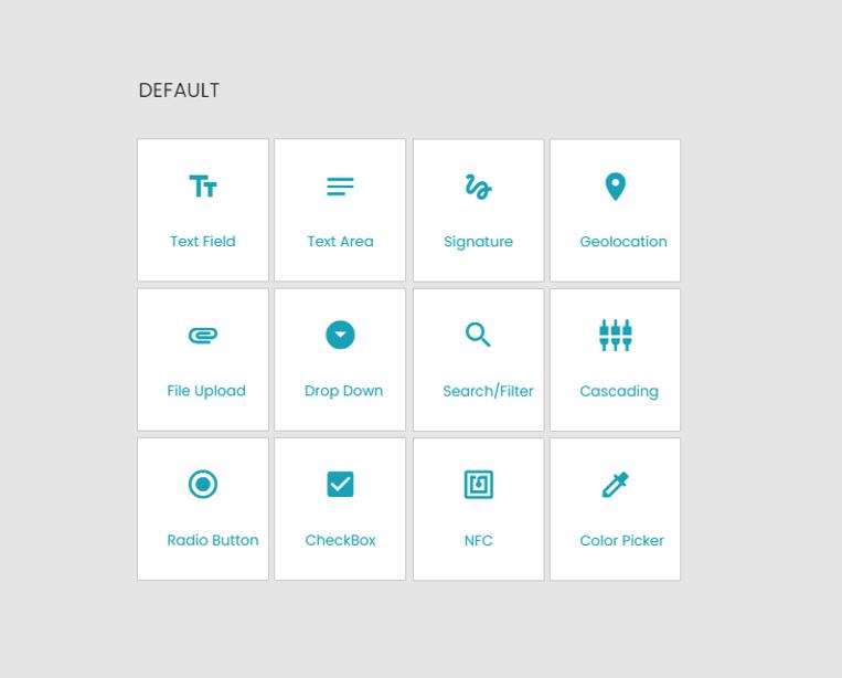 Form Builder Default Elements