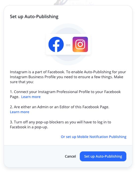 Set up Auto-Publishing