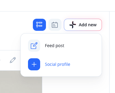 Add a social profile