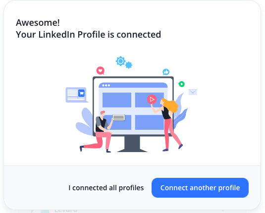Your Linkedin Profile is connected
