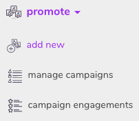 Promote - add new