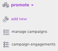 Add new - Promote