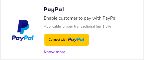Click the yellow PayPal button