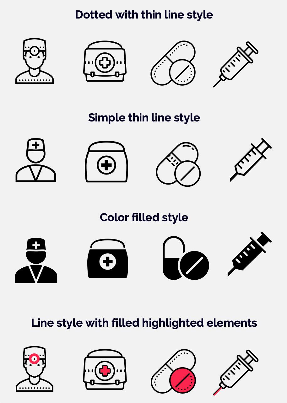 Basic icon styles