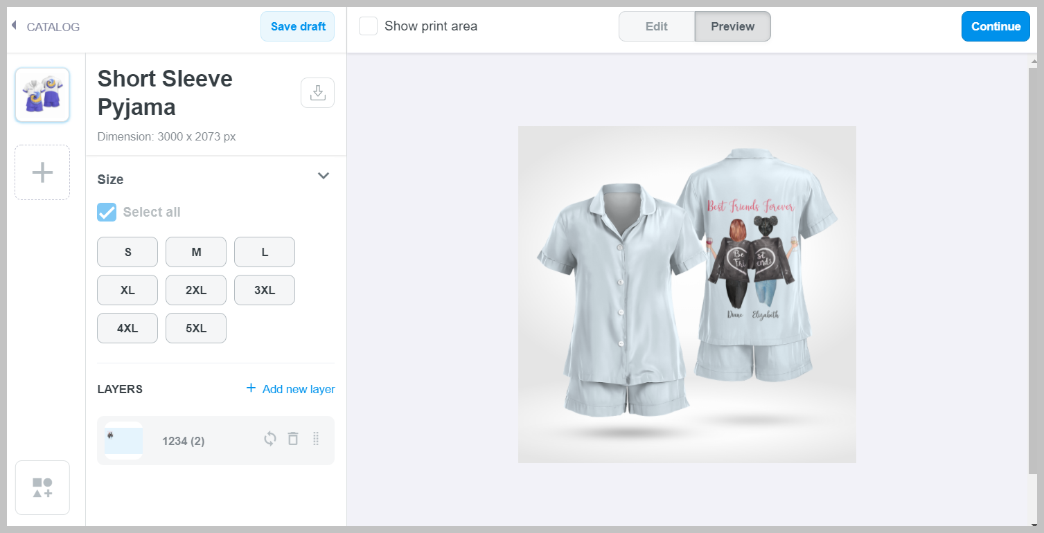 Preview your mockup in campaign editor