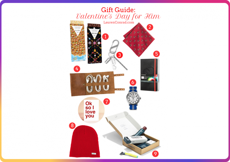 Gift guide curators, such as Lauren Conrad, are perfect partners to promote your products during Valentine's Day
