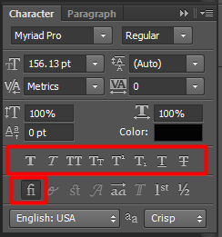 Supported Type Options