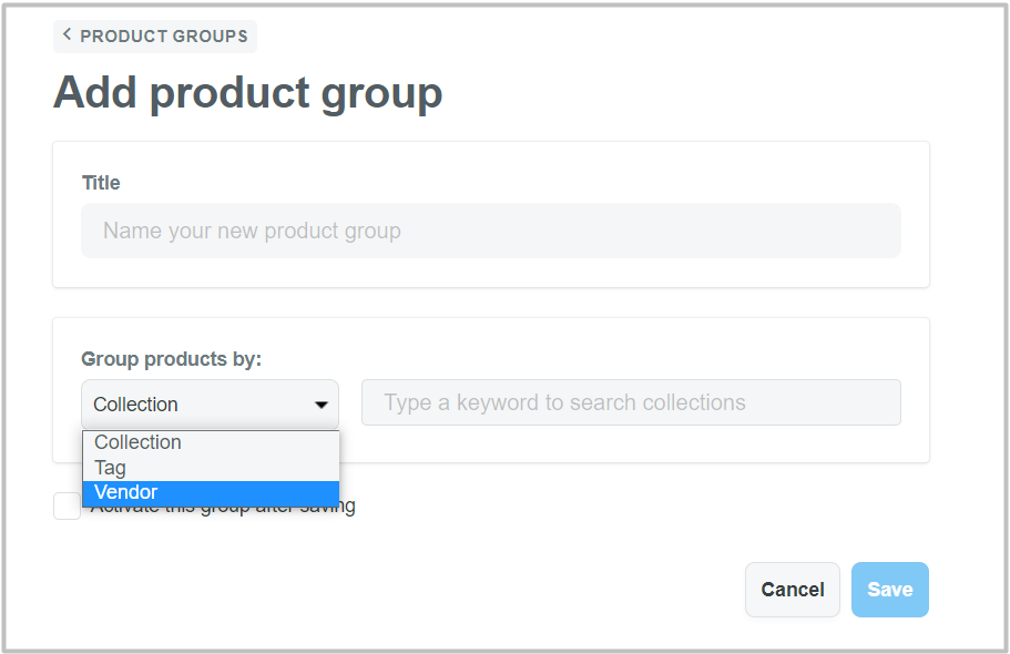 Choose the collections/ tags/ vendors you want products to share reviews then hit Save