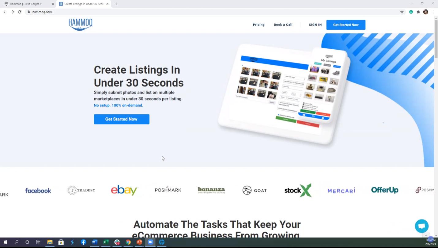 Hammoq Home Page
