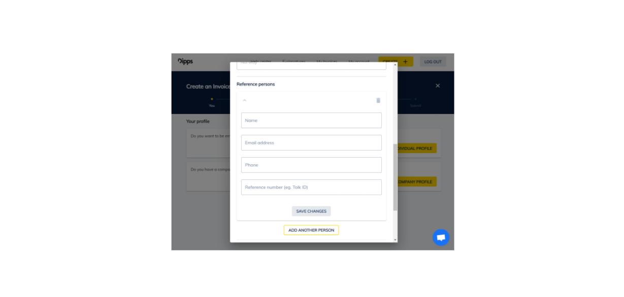 Fyll inn din kontaktinformasjon