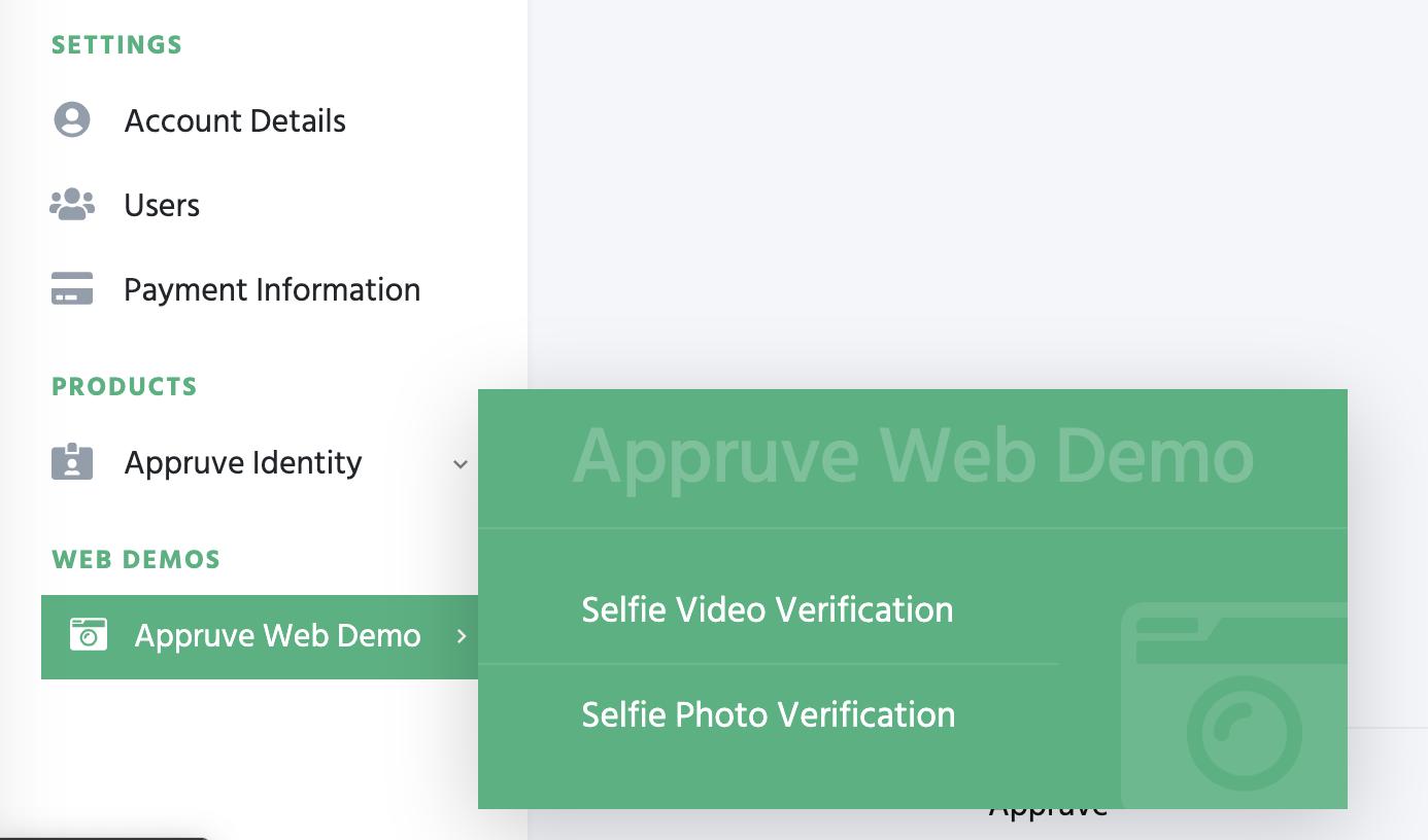 Appruve Web Demo