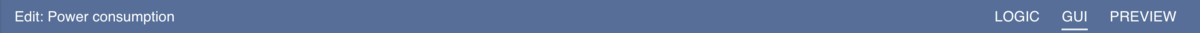 Interface Toolbar