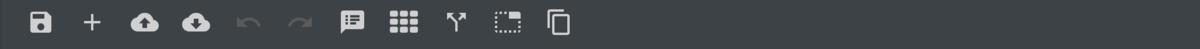 Logic Editor Toolbar