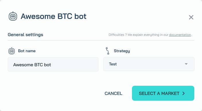 Create a bot 1/2