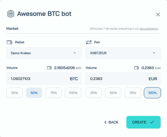 Create a bot 2/2