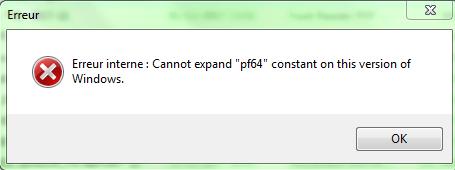 error app 32 bit