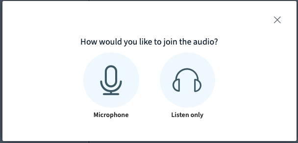 Enable your microphone