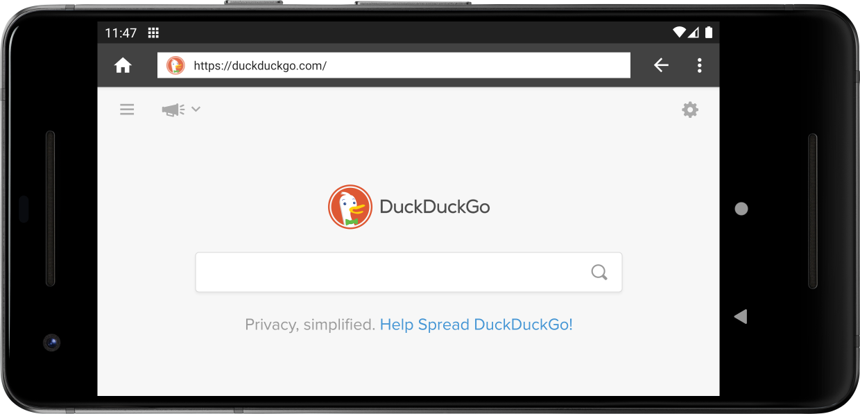 Browser with Address Bar