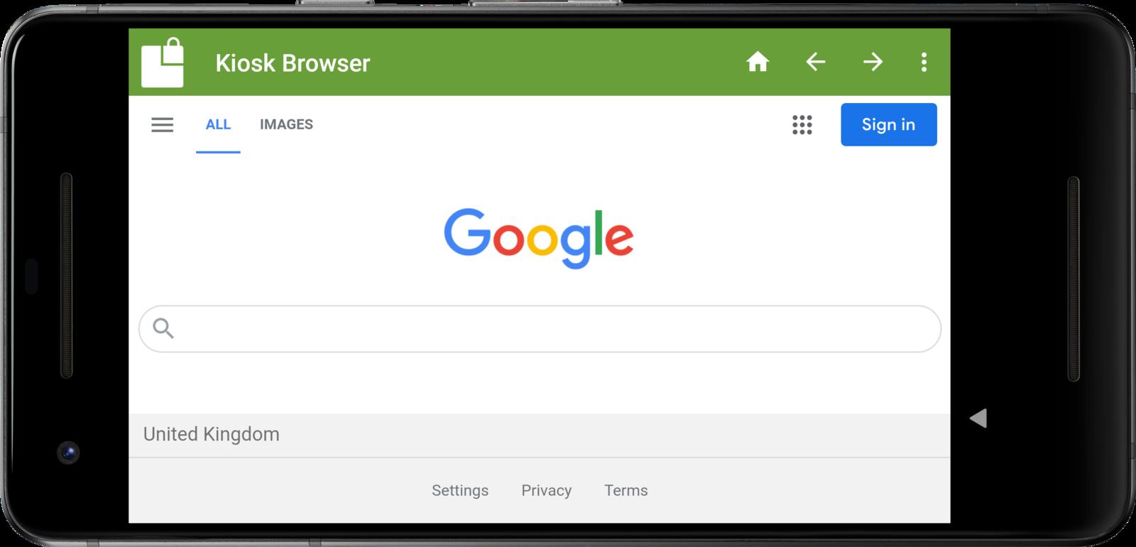 Kiosk Browser